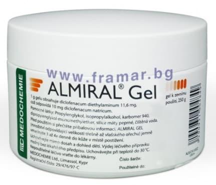 АЛМИРАЛ гел 1.16 % 250 гр. - изображение