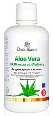 Изображение към продукта АЛОЕ ВЕРА СОК 1000 мл DOCTOR NATURE