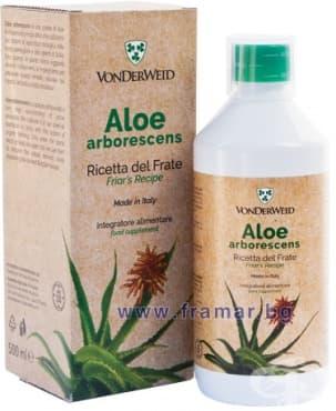 Изображение към продукта АЛОЕ АРБОРЕСЦЕНС сок 500 мл. IL PUCINO