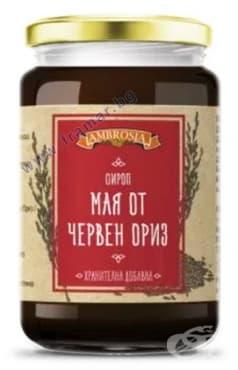 МАЯ ОТ ЧЕРВЕН ОРИЗ сироп 410 гр. АМБРОЗИА - изображение
