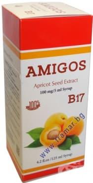 Изображение към продукта АМИГОС АМИГДАЛИН В17 сироп 125 мл. ДР. ГРИЙН
