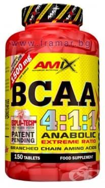 АМИКС BCAA 4:1:1 таблетки * 150 - изображение