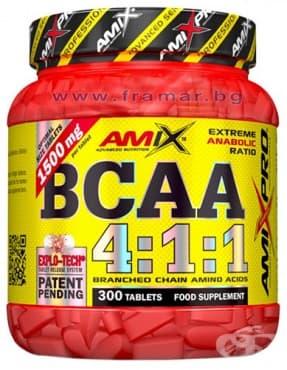Изображение към продукта АМИКС BCAA 4:1:1 таблетки * 300