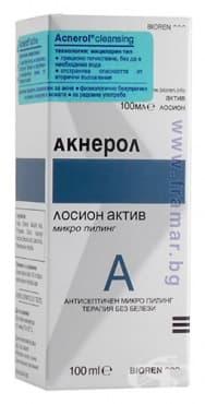 Изображение към продукта АКНЕРОЛ ПИЛИНГ ЛОСИОН 100 мл.
