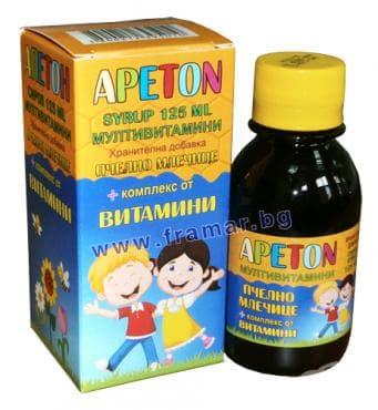 Изображение към продукта АПЕТОН сироп 125 мл