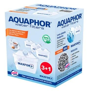 Изображение към продукта АКВАФОР СМЕНЯЕМ ФИЛТЪР ЗА ПРЕЧИСТВАНЕ НА ВОДА B 25+ 200 литра * 4