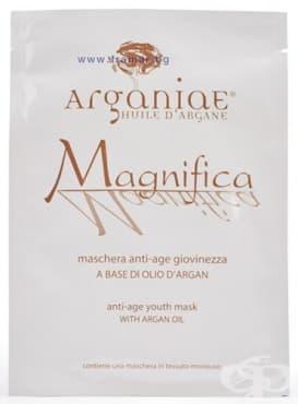 Изображение към продукта АРГАНИА МАСКА ЗА ЛИЦЕ МАГНИФИКА ЗА ЕДНОКРАТНА УПОТРЕБА