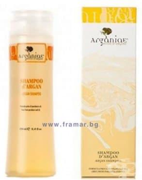 Изображение към продукта АРГАНИА ШАМПОАН С АРГАН 250 мл