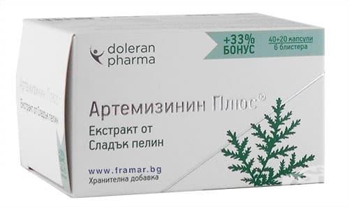 Изображение към продукта АРТЕМИЗИНИН ПЛЮС капсули * 60 ДОЛЕРАН ФАРМА
