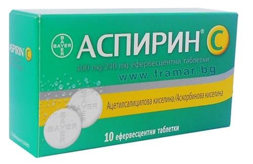 Изображение към продукта АСПИРИН + ВИТАМИН Ц ефервесцентни таблетки * 10 BAYER