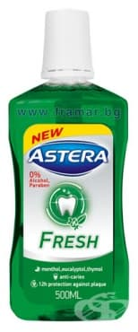 Изображение към продукта ВОДА ЗА УСТА АСТЕРА FRESH  500 мл.