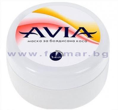 Изображение към продукта АВИА ПОДХРАНВАЩА МАСКА ЗА БОЯДИСАНА КОСА С МАСЛО ОТ ЖОЖОБА 250 мл.