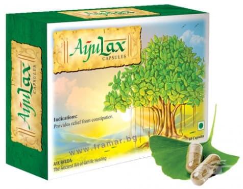 Изображение към продукта АЮЛАКС капсули * 60 WELEX LABORATORIES