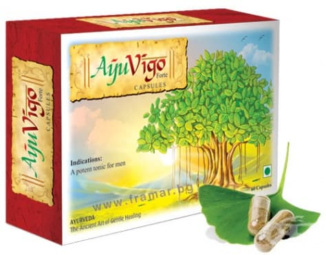 Изображение към продукта АЮВИГО капсули * 60 WELEX LABORATORIES