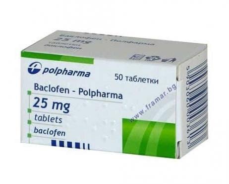 БАКЛОФЕН  табл.  25 мг.  * 50