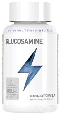 Изображение към продукта БАТЕРИ НУТРИШЪН ГЛЮКОЗАМИН капсули 1000 мг * 90