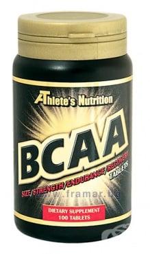 Изображение към продукта АТЛЕТС НУТРИШЪН BCAA таблетки * 100