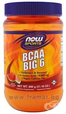 НАУ ФУДС BCAA BIG 600 гр. - изображение