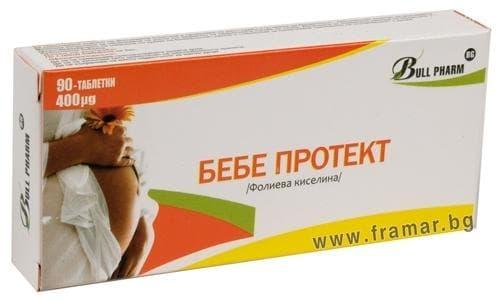 Изображение към продукта БЕБЕ ПРОТЕКТ табл. * 90