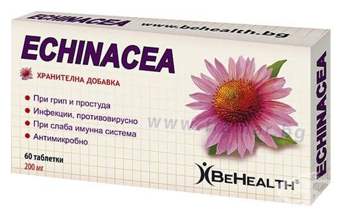 Изображение към продукта БИ ХЕЛТ ЕХИНАЦЕЯ таблетки * 60