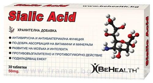 Изображение към продукта БИ ХЕЛТ СИАЛОВА КИСЕЛИНА таблетки * 30