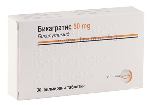 Изображение към продукта БИКАГРАТИС таблетки 50 мг * 30