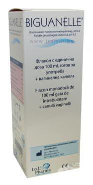 БИГВАНЕЛЕ гинекологичен разтвор 100 мл. - изображение