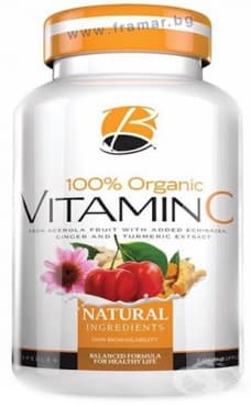 Изображение към продукта ВИТАМИН C капсули 250 мг * 60 BILEYA