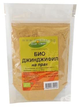 Изображение към продукта ДЖИНДЖИФИЛ на прах БИО 50 гр. БИО СВЯТ
