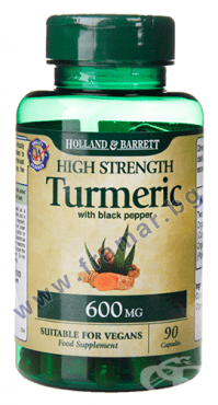 Изображение към продукта БИО КУРКУМА С ЧЕРЕН ПИПЕР капсули 600 мг *90 HOLLAND & BARRETT