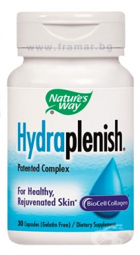 Изображение към продукта ХИДРАПЛЕНИШ ХИАЛУРОНОВА КИСЕЛИНА капсули 500 мг * 30 NATURE'S WAY