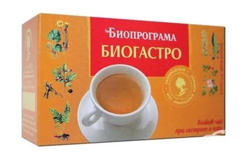 Изображение към продукта ЧАЙ ФИЛТЪР БИОГАСТРО * 20 БИОПРОГРАМА