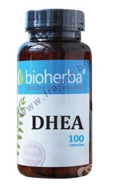 БИОХЕРБА DHEA (ДЕХИДРОЕПИАНДРОСТЕРОН) капсули 25 мг * 100 - изображение