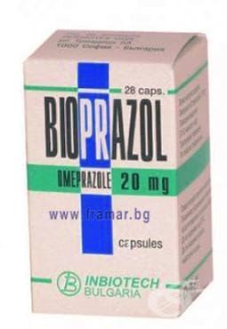 Изображение към продукта БИОПРАЗОЛ капс. 20 мг. * 28