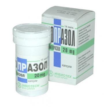 Изображение към продукта БИОПРАЗОЛ капс. 20 мг. * 14