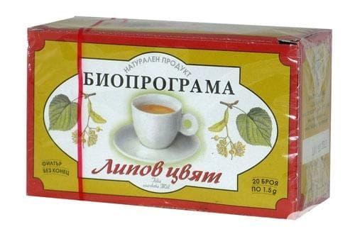 Изображение към продукта ЧАЙ ФИЛТЪР ЛИПОВ ЦВЯТ * 20