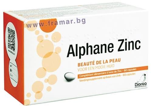 БИОРГА АЛФАН ЦИНК капсули 30 мг. * 60 - изображение