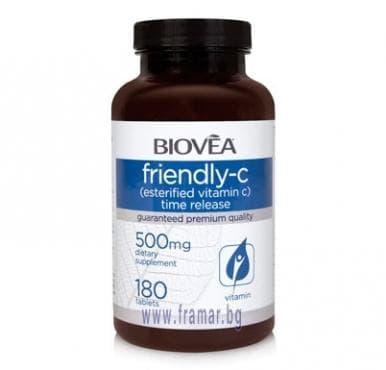 БИОВЕА ФРЕНДЛИ - C TR таблетки 500 мг. * 180