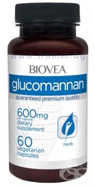 Изображение към продукта БИОВЕА ГЛЮКОМАНАН капсули 600 мг * 60