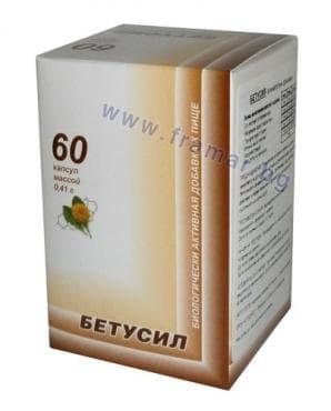 Изображение към продукта БЕТУСИЛ капсули * 60