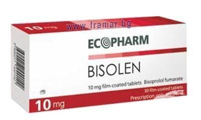 Изображение към продукта БИЗОЛЕН  табл. 10 мг. * 30