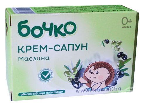 БОЧКО САПУН МАСЛИНА 75 гр. - изображение