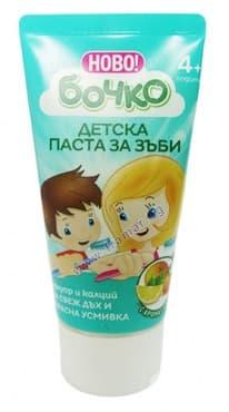 Изображение към продукта ПАСТА ЗА ЗЪБИ БОЧКО ЗА ДЕЦА 4+ С ФЛУОР И КАЛЦИЙ 50 мл.
