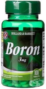 Изображение към продукта БОР таблетки 3 мг * 100 HOLLAND & BARRETT