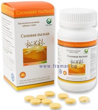 Изображение към продукта БОРОВ ПРАШЕЦ таблетки * 108