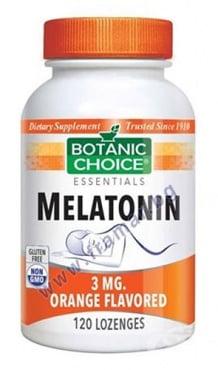 Изображение към продукта БОТАНИК ЧОЙС МЕЛАТОНИН таблетки за смучене 3 мг * 120
