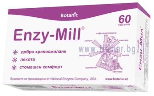 Изображение към продукта ЕНЗИ - МИЛ таблетки *  60 БОТАНИК