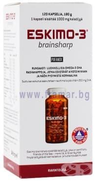 Изображение към продукта ЕСКИМО - 3 БРЕЙНШАРП капсули * 120