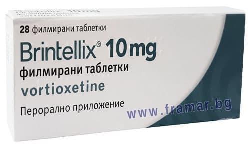 Изображение към продукта БРИНТЕЛИКС таблетки 10 мг. * 28