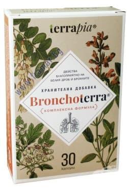 Изображение към продукта БРОНХОТЕРА капсули * 30